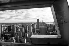 Czarny I Biały na Nowy Jork fotografia stock