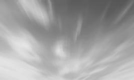 Czarny i biały nieba cloudscape tła lazur rozjaśniają obłocznego app Obraz Royalty Free
