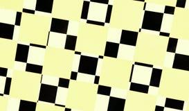 Czarny i biały płytki tło Obraz Stock