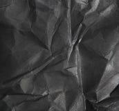 Czarny i biały papierowy tło Obrazy Stock