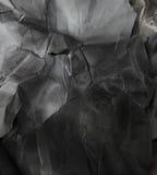 Czarny i biały papierowy tło Fotografia Stock
