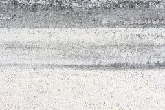 Czarny i biały piasek Zdjęcia Stock