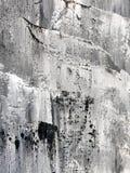 Czarny I Biały ręka rysujący akrylowy obraz royalty ilustracja
