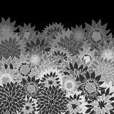 Czarny i biały rocznika tło Obrazy Royalty Free