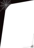 Czarny I Biały sieci tło Obrazy Stock