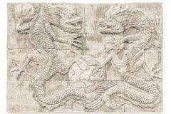 Czarny i biały smoka ściana z cegieł tekstury tło, ściana tekst/ Zdjęcie Stock