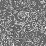 Czarny i biały sport, sprawność fizyczna, czynnościowy stażowy tło s royalty ilustracja