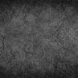 Czarny i biały stary zrudziały metalu talerza tło Zdjęcia Royalty Free