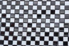 Czarny I Biały szachownica abstrakta tekstura obrazy stock