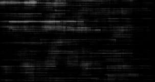 Czarny i biały tła realistyczny migotanie, analogowy rocznika TV sygnał z złą interferencją, statyczny hałasu tło zbiory wideo