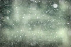 Czarny i biały tekstura śnieg obraz royalty free