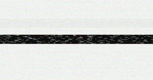 Czarny i biały vhs usterki hałasu tła realistyczny migotanie, analogowy rocznika TV sygnał z złą interferencją, statyczny hałas zdjęcie wideo