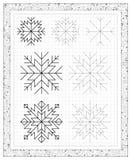 Czarny i biały worksheet na kwadratowym papierze z ćwiczeniami dla małych dzieci Zdjęcie Royalty Free