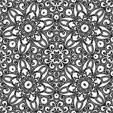 Czarny i biały wzór Obrazy Royalty Free