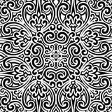 Czarny i biały wzór Zdjęcie Stock