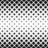 Czarny i biały zaokrąglony kwadrata wzór royalty ilustracja