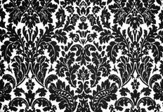 Czarny i biały barok Zdjęcie Royalty Free