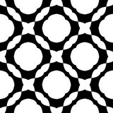 Czarny i biały bezszwowy geometrical wzór zdjęcie royalty free