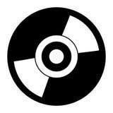 czarny i biały cd Zdjęcia Stock