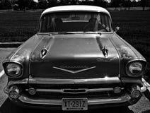 Czarny I Biały Chevy obraz stock