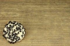 Czarny i biały ciastko Obraz Stock