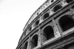 Czarny i biały Colosseum Obraz Royalty Free