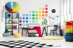 Czarny i biały dywan Fotografia Stock