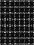 czarny i biały geometryczna deseniowa ilustracja Obraz Stock