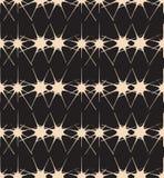 Czarny I Biały gwiazda abstrakta wzór Zdjęcia Royalty Free