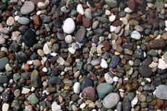 Czarny i biały kamienie Obraz Royalty Free