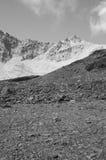 Czarny I Biały krajobraz Moutains Obrazy Royalty Free