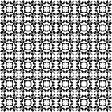 Czarny i biały kwiecista bezszwowa tapeta Fotografia Royalty Free