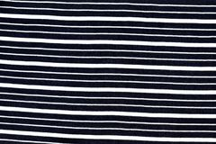 Czarny I Biały linii tkaniny wzór Obraz Royalty Free