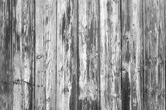 Czarny i biały tekstura drewno Zdjęcia Royalty Free
