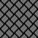 Czarny i biały wektorowy wizerunku i powtórka wzoru projekt Zdjęcie Royalty Free