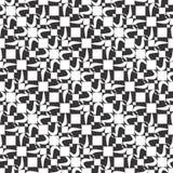 Czarny i biały wektorowy wizerunku i powtórka wzoru projekt Obrazy Stock
