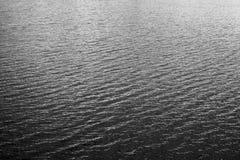 Czarny I Biały woda Zdjęcia Stock