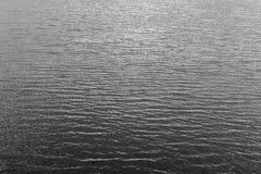 Czarny I Biały woda Obrazy Stock