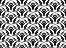 Czarny i biały wzór Zdjęcie Royalty Free