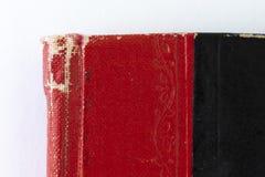 Czarny i czerwony hardcover czasopismo obrazy royalty free