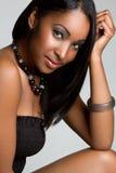 czarny ja target2139_0_ dziewczyny Obrazy Royalty Free