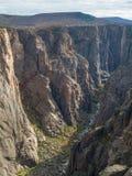 czarny jaru Colorado gunnison Zdjęcia Royalty Free