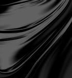 czarny jedwab ilustracja wektor