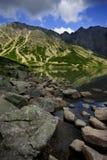 Czarny Jeziorny Tatrzański zdjęcie stock