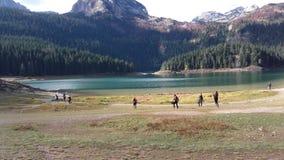 Czarny jezioro Zdjęcia Stock