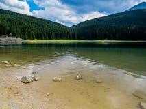 Czarny jezioro (Crno Jezero) Obrazy Stock