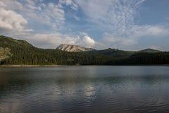 Czarny jezioro, Durmitor, Montenegro Obraz Royalty Free