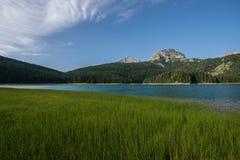 Czarny jezioro, Durmitor, Montenegro Zdjęcie Royalty Free