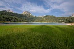 Czarny jezioro, Durmitor, Montenegro Zdjęcia Royalty Free