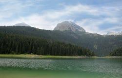 Czarny jezioro Durmitor park narodowy Montenegro Zdjęcie Stock